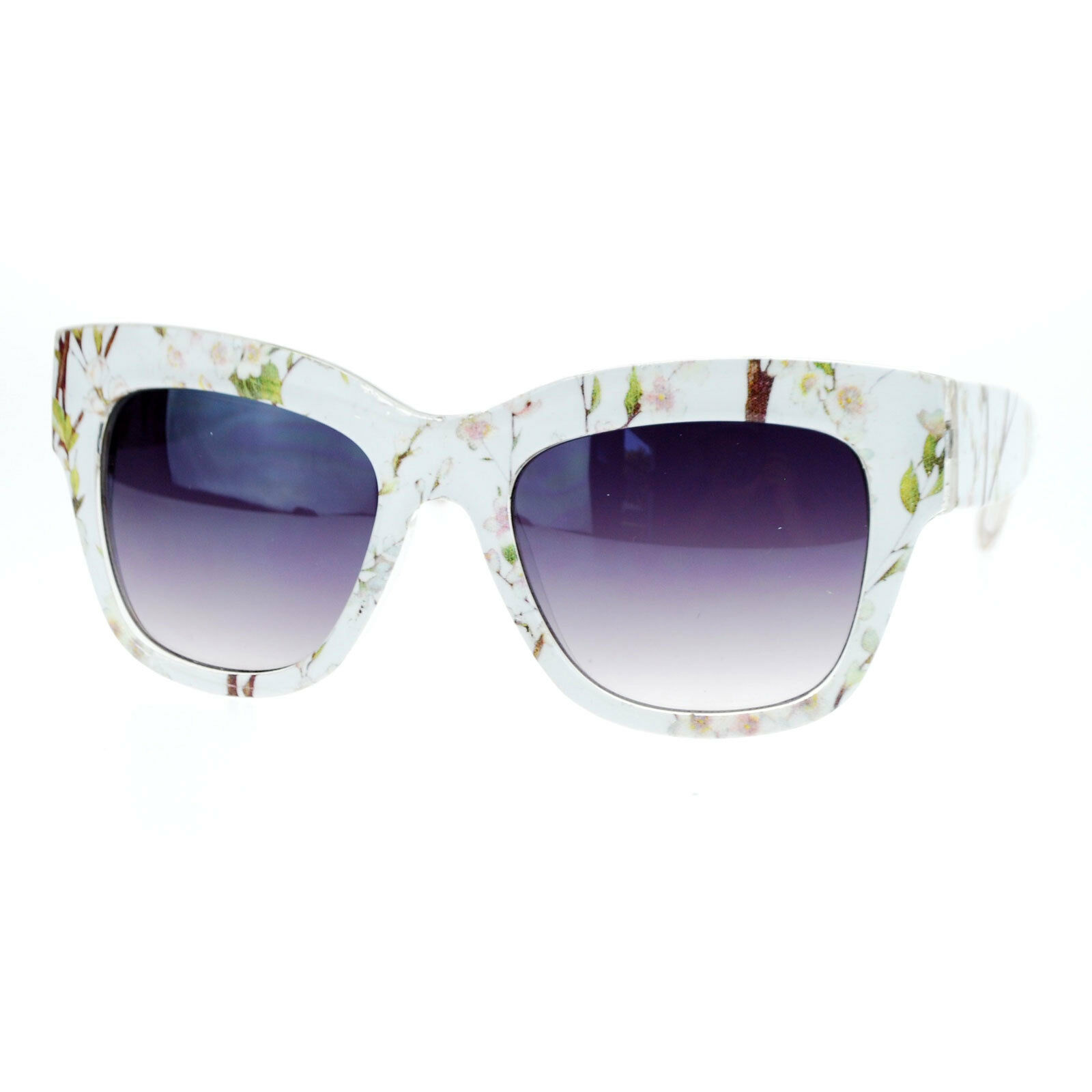 Womens Fashion Sunglasses Classic Thick Oversized Square Frame