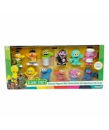 Playskool Sesame Street Deluxe Monster Figure Set Collectible 12 Figures... - $34.64