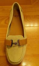 UGG AVEN 1010100 Antique White Slip on Ugg Shoes Women SZ-7 - $49.00