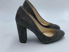 "Jessica Simpson 8.5 Belemo Gray Suede Pumps 4"" High Heels Shoes image 4"