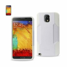 New REIKO SAMSUNG GALAXY NOTE 3 HYBRID HEAVY DUTY CASE IN WHITE - $15.75