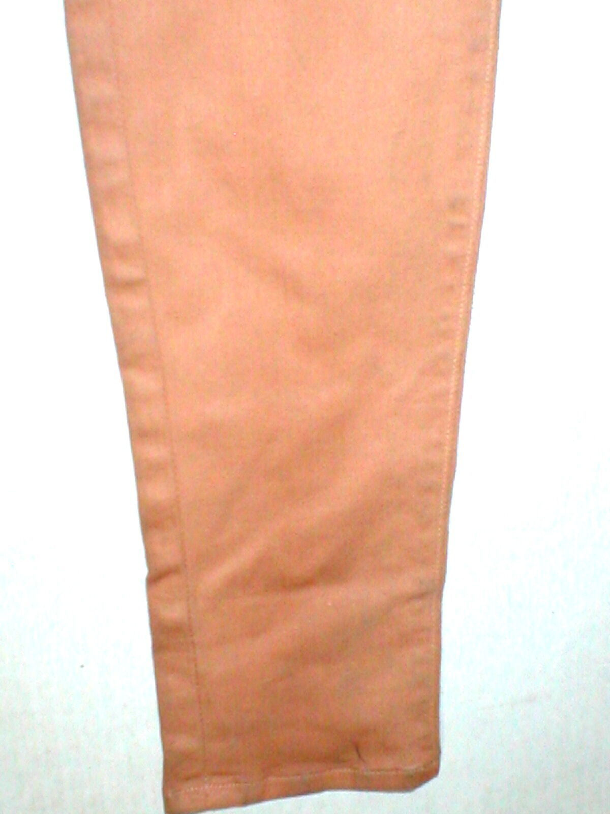 New J Brand Jeans Skinny Womens Coated Peach Leather Mid 26 Tigers Eye Pants USA image 5