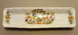 Aynsley Made In England Fine English Bone China COTTAGE GARDEN Mint Dish - $9.99