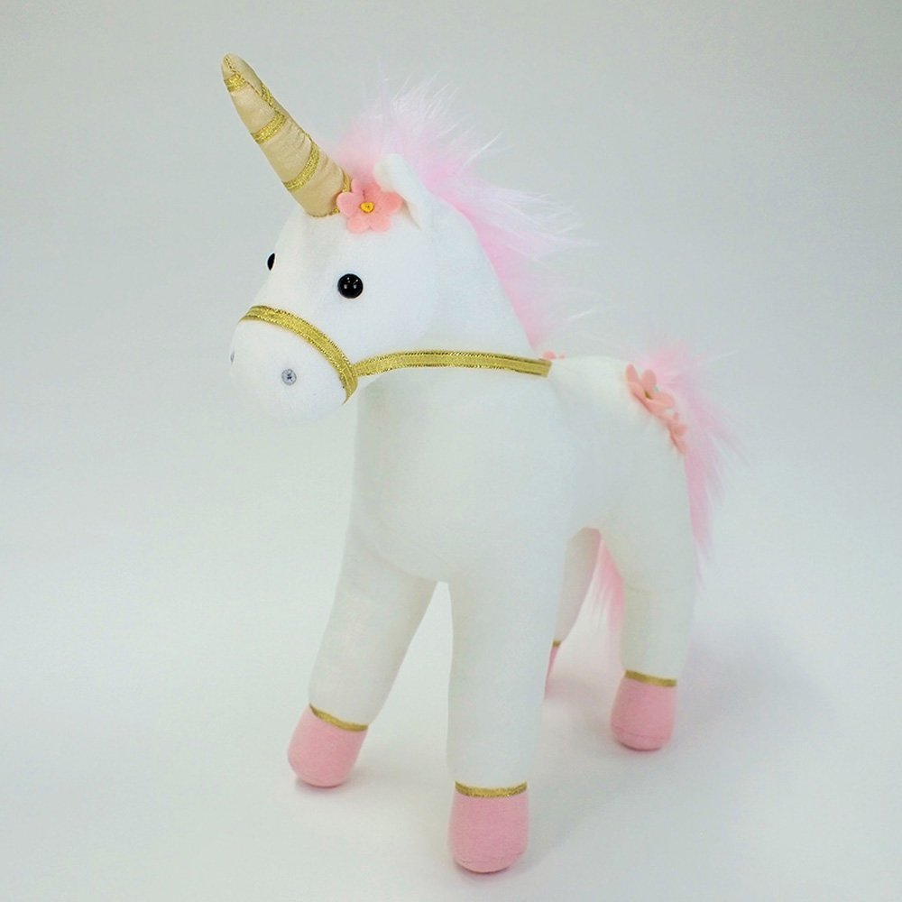 Image 2 of Gund Lilyrose Pink Unicorn Plush, 13