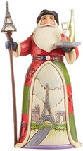 "Jim Shore Heartwood Creek French Santa Stone Resin Figurine, 7.25"" - $24.68"