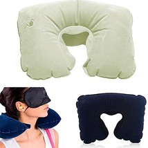 Hawk Travel PRO: 17 X 11 Inch Inflatable Neck Pillow - $6.92