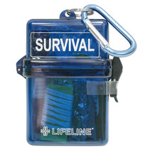 Weather Resistant Survival Kit - 13 Piece Hiking & Camping Emergency Gear - $72.82