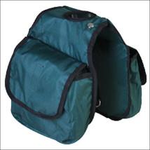 Hilason Western Tack Horse Horn Bag Hunter Green Pockets U-3742 - $16.82