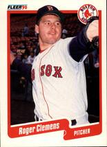 1990 Fleer Baseball Base Singles #256-508 (Pick Your Cards) #271 Roger Clemens  - $1.49