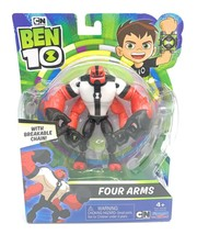 "Ben 10 Four Arms 4""- 5"" Action Figure with Breakable Chain Basic - $29.69"