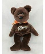 "Ty Coco Elvis Presley Bear Plush Reeses 9"" 2007 Stuffed Animal Toy - $6.95"