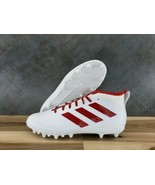 adidas Freak Ghost Football Cleats - White/Red [Men's Sizes 10, 12] EE6528 - $59.99