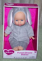 """Adora Baby Doll in Bunny Theme Outfit 11""""H New - $12.88"""
