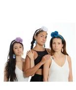 pom pom braided wayuu headband OS adults select your color FREE US shipping - $25.00