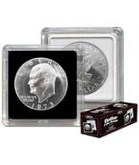 (5) BCW 2X2 COIN SNAP - DOLLAR - BLACK for Premium Long-term Storage Snaps - $5.07