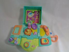 2006 Hasbro Littlest Pet Shop Teeniest Tiniest Cat Kitten Play-set - no pets - $9.29