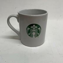 Starbucks White Coffee Mug Cup Seattle Mermaid 15.2oz - $7.91