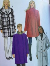 Butterick Sewing Pattern 6107 Ladies Misses Coat Size XS-M 4-14 New - $17.13