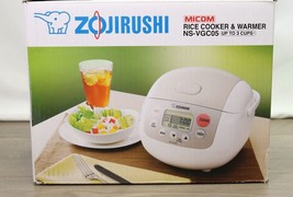 Zojirushi NS-VGC05 Micom 3-Cup (Uncooked) Electric Rice Cooker | 1231 - $123.74