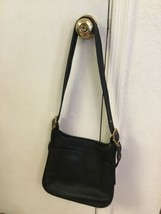 Coach Legacy Bag Vintage Black Leather Style Number L9N-9966 Adjustable ... - $72.57