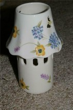 Home Interiors Flowering Field Candlelamp Homco - $10.00