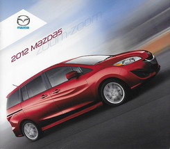2011/2012 Mazda 5 MAZDA5 brochure catalog 1st Edition 12 US Touring - $8.00