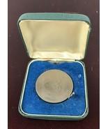 1874 1965  SIR WINSTON CHURCHILL  Commemorative Crown Coin  ELIZABETH II... - $18.70