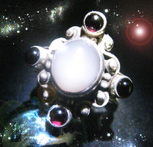 HAUNTED RING MASTER MASTERY OF LIGHT ELIMINATE SHIELD AGAINST EVIL OOAK MAGICK  - $9,077.77
