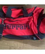 Ferrari Fila Collaboration Boston Bag Color Red New - $210.99