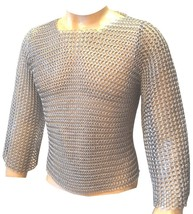Medieval aluminum butted chain mail shirt  - $170.00