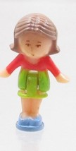 1990 Vintage Polly Pocket Doll Figure Pixie in her Necklace - Pixie - $7.50