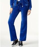 $88 Michael Kors Velour Drawstring Sweatpants Bright Royal S - $57.41