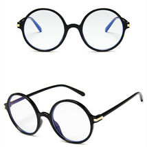 New Fashion Nerd Style Round Clear Lens Glasses Frame Retro Casual Daily Eyewear image 5