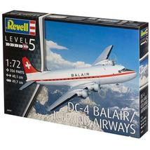 REVELL RV4947 1:72 DC-4 Balair / Iceland Airways plastic model airliner - $131.56
