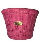 Nantucket Bike Basket C. Gull Buoy Childs Pink Handlebar D-Shaped Basket  - $39.99