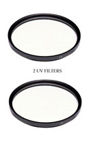 2 Uv Filters For Panasonic AGHMC70 AGHMC70U AGHMC70P HDCHS250 AGHMC70PS HDCHS20 - $10.58