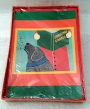 Black Dog Christmas Carols 12 cards Stephen Huneck  Labrador Retriever NIB - $59.99