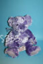 "9"" Russ TEDDY BEAR Purple Girl Power Groovy Guava Soft Bow Stuffed Anima... - $15.45"