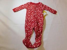 The Children's Place Baby Boy's Footie PJ Pajamas Size 0-3 Months Christ... - $29.99