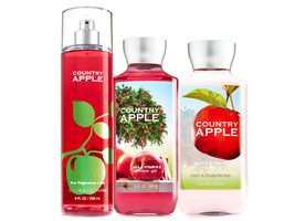 Bath & Body Works Country Apple Trilogy Gift Kit - $37.03