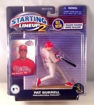 Pat Burrell Philadelphia Phillies MLB Starting Lineup 2 action figure NI... - $14.84