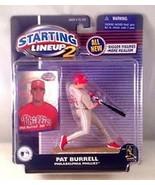Pat Burrell Philadelphia Phillies MLB Starting Lineup 2 action figure NI... - $14.84
