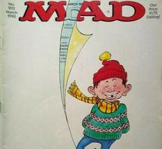 MAD Magazine March 1990 No 293 Lethal Weapon Movie Satire Parody Mel Gibson - $13.37