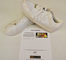 Converse Weapon White Basketball sz 14 DWAYNE WADE Personal Owned Shoes COA #13 - $148.49
