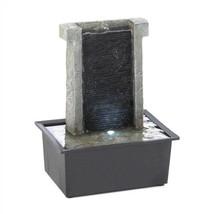 Cascading Stone Wall Tabletop Fountain - $35.57