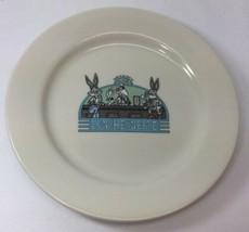 Homer Laughlin China Looney Tunes Luncheonette White Dinner Plate Warner... - $9.89