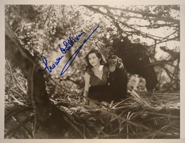 MAUREEN SULLIVAN SIGNED Photo - Tarzan - Johnny Weissmuller  w/coa - $159.00