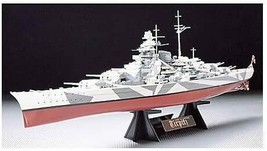 Tamiya 1/350 Ship Series No.15 German Battleship Tirpitz Model Kit 78015 New - $58.03