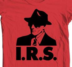 IRS records T-shirt retro alternative music R.E.M. Buzzcocks Iggy Pop cotton tee image 2