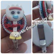 Forky Clay Badge Reel image 3